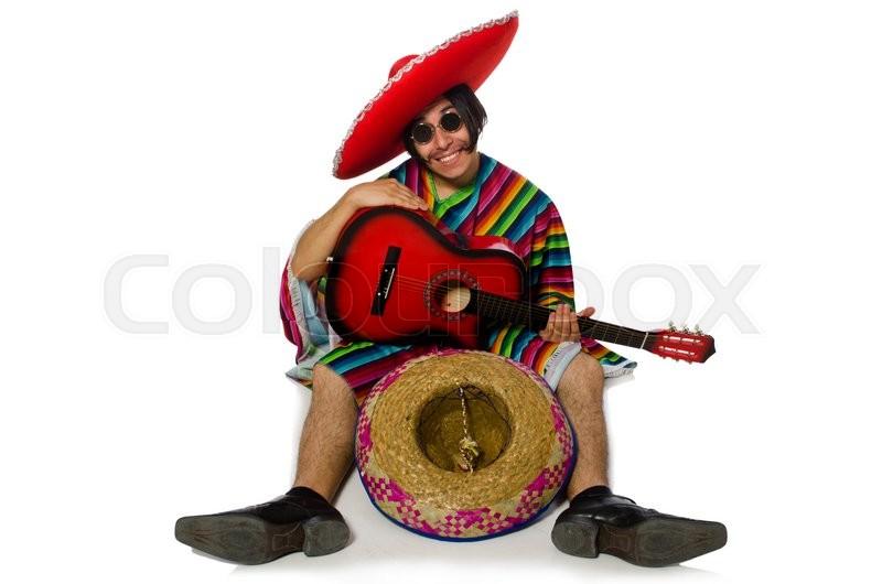 Mexikanerin Flachgelegt