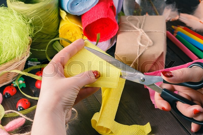 Gift packing. Holiday decor concept. Toned picture, stock photo