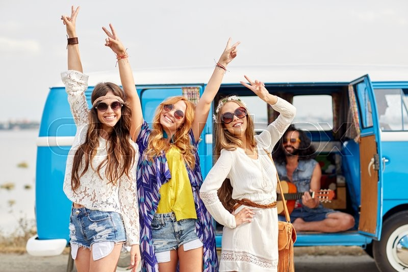 Summer Holidays Road Trip Vacation Travel And People Concept