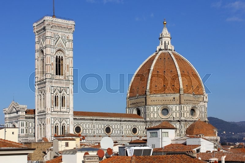 Cathedral santa maria del fiore duomo and giottos bell for Interior design jobs in florence italy