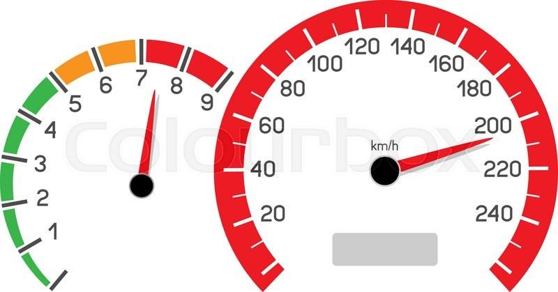 car speeding limit illustration isolated on white background rh colourbox com speedometer vector icon car speedometer vector