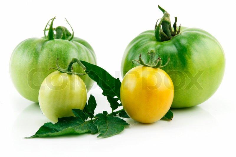 modning af grønne tomater