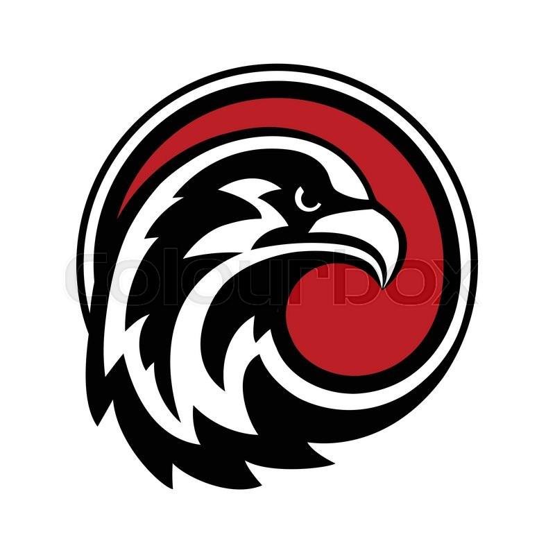 eagle logo design vector wild bird falcon hawk head in atlanta falcons logo vector free New Atlanta Falcon Logo