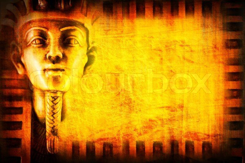 Egypt background with pharaon stock photo colourbox for Home wallpaper egypt