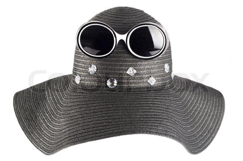 d751d704ff5e Big kvinde `s sommer hat med krystaller ...