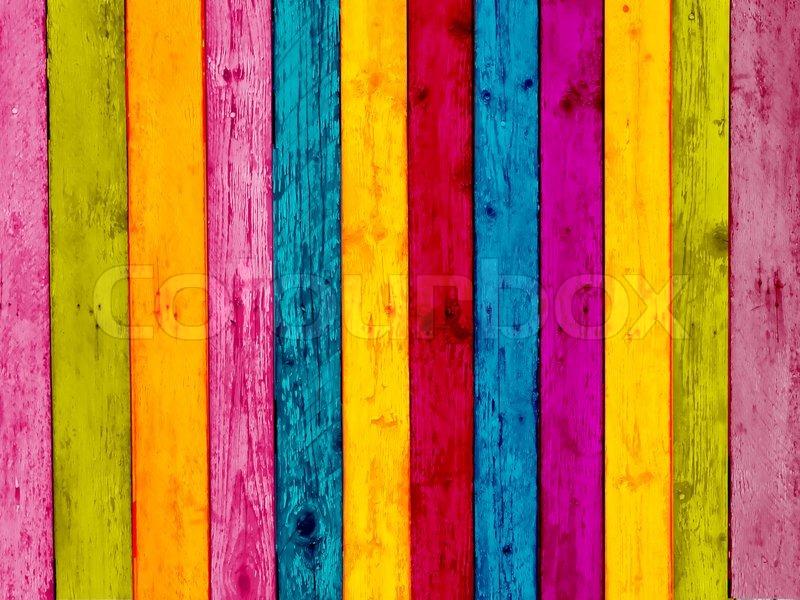 Vibrant wood background stock photo colourbox - Vibrant background ...