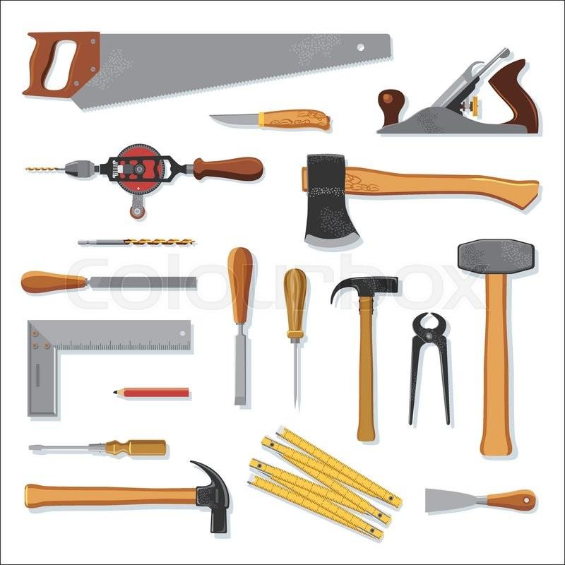 Tools Werkzeug Tool Vektorgrafik Colourbox