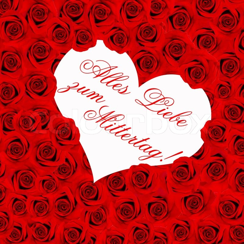 red roses happy mothers day card concept germany stock photo