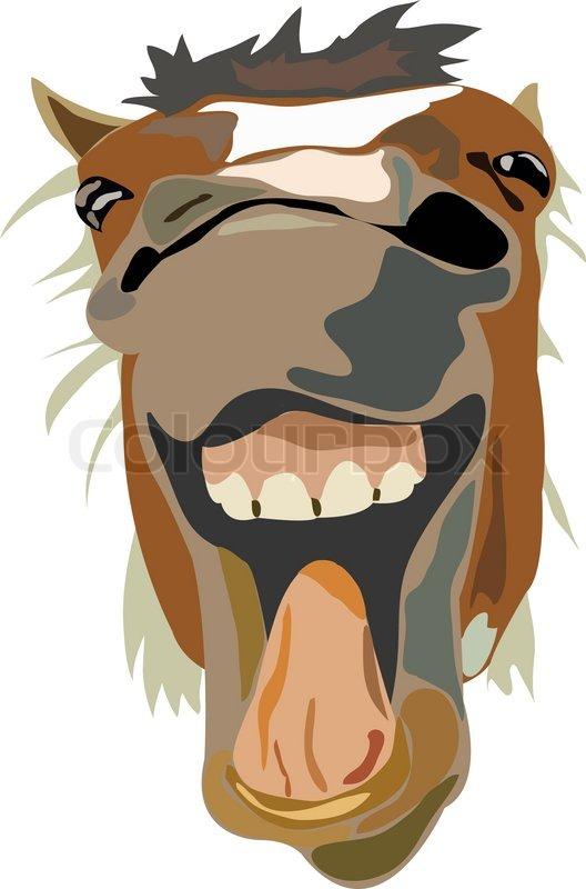 Смешная лошадиная морда рисунок, осенние открытки открытка