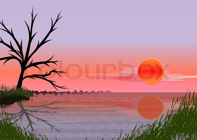 Stock vector of \'watercolour, landscape, weather\'