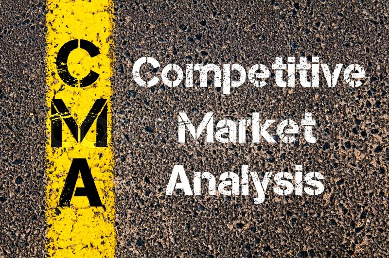 Concept Image Of Business Acronym Cma Competitive Market Analysis