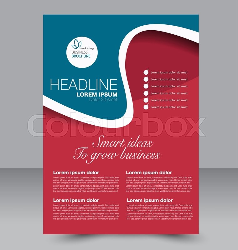 Brochure Design Templates For Education | Abstract Flyer Design Background Brochure Template Can Be Used