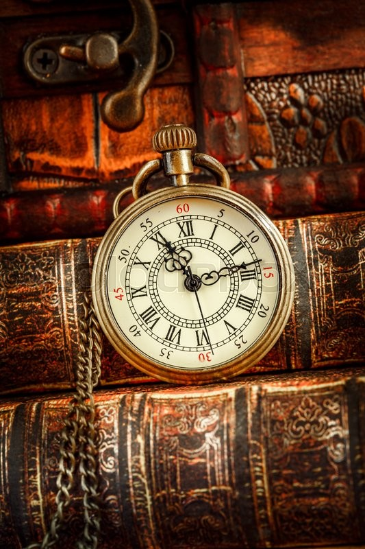Something is. Vintage antique pocket watch authoritative