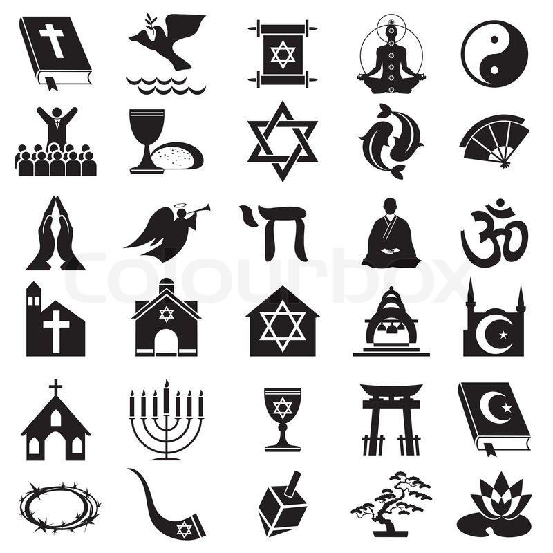 Religious Symbol Stock Vector Colourbox