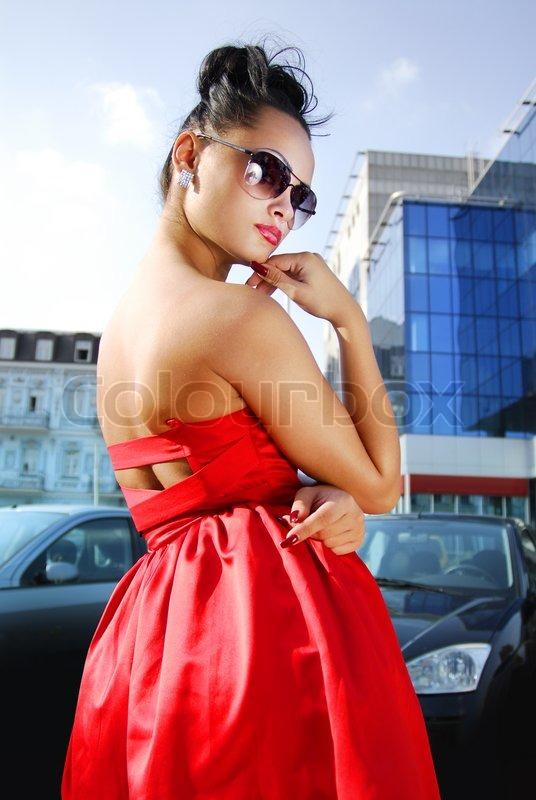 Rote Sexy Damenkleider gnstig online kaufen: Groe