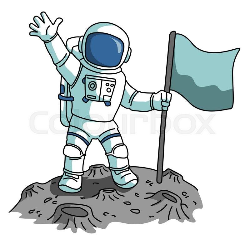 Astronaut | Stock Vect...