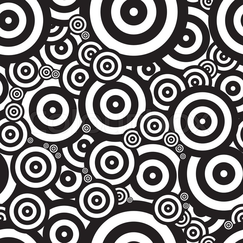 Schwarze Tapete Ohne Muster : Black and White Psychedelic Patterns