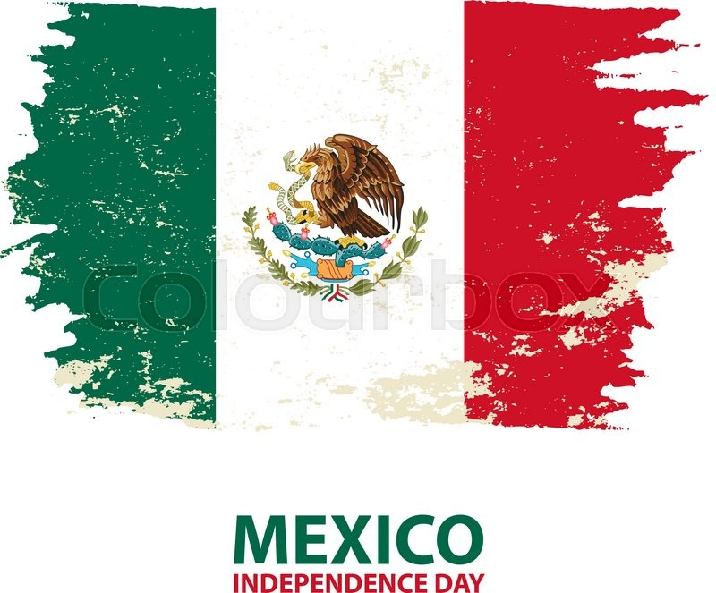 flag day in mexico mexico independence day mexico flag in grunge rh colourbox com new mexico flag vector mexican flag vector