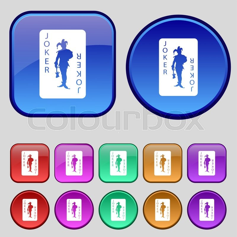 Spillekort, clipart, white - Stock vektor - Colourbox