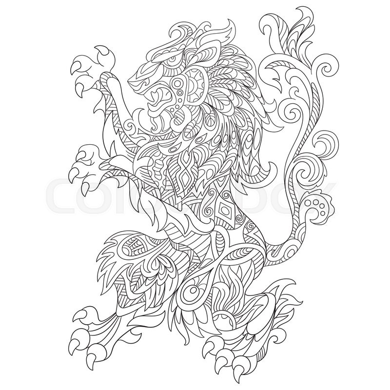 cloud template with lines - zentangle pages lines coloring pages