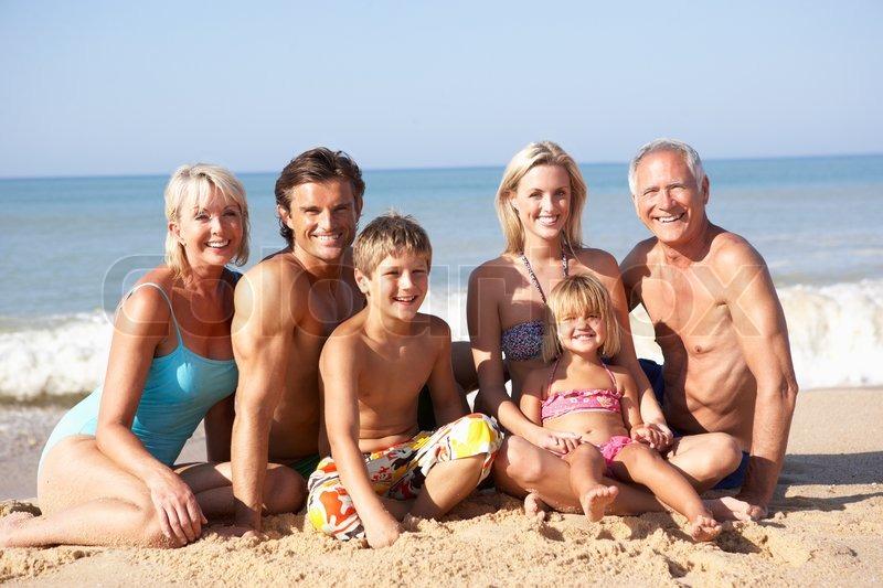 familien strand gratis