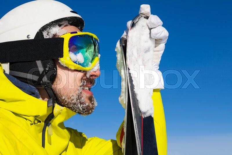 Ski Mask With Goggles