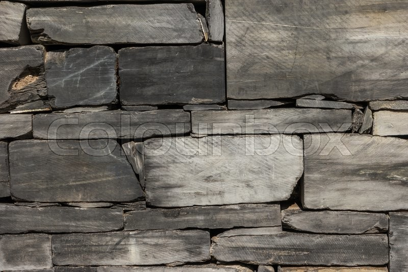 Pattern gray color of modern style design decorative cracked wall, stock photo