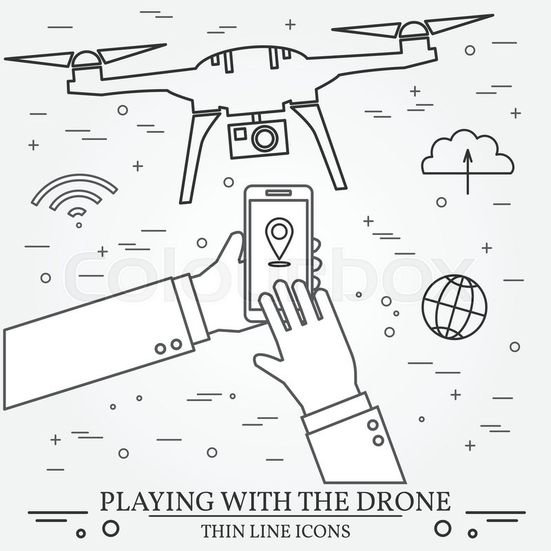 Playing With The Drone Copter