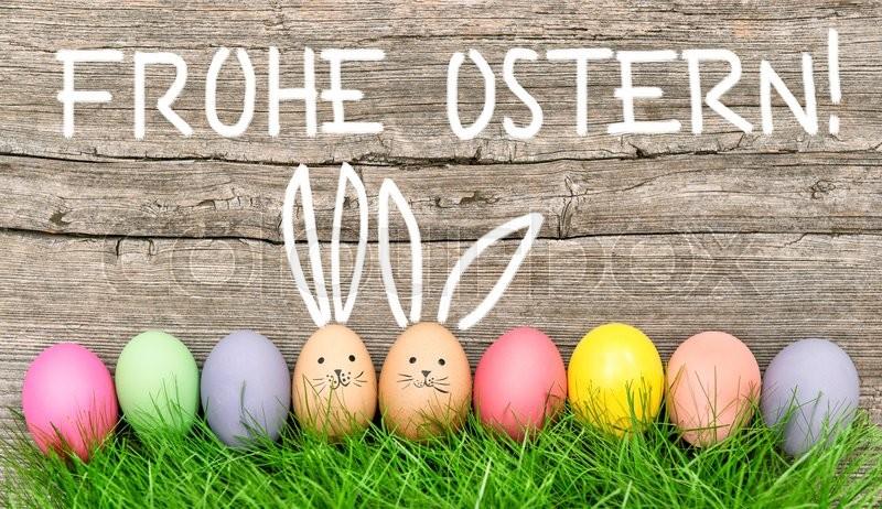 Frohe Ostern Eier