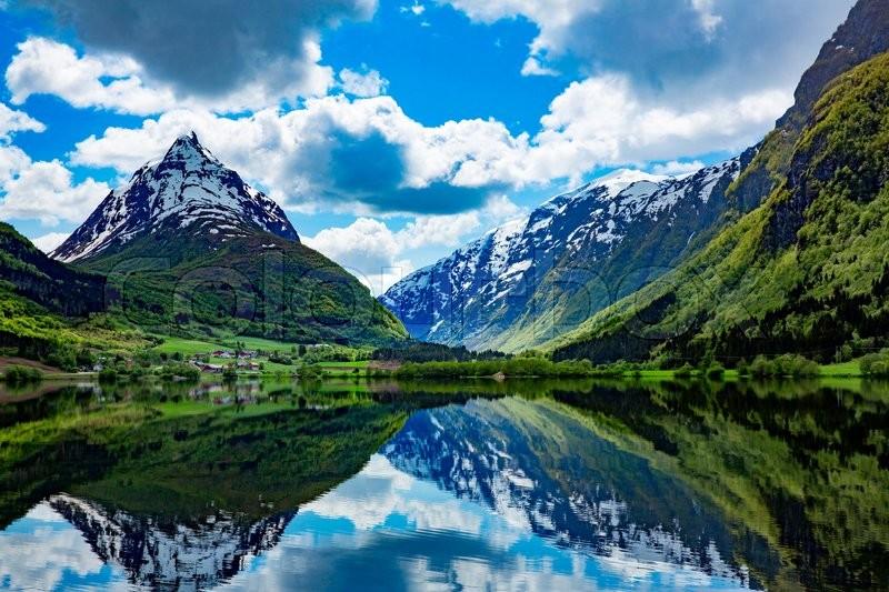 norway nature natural landscape natur background