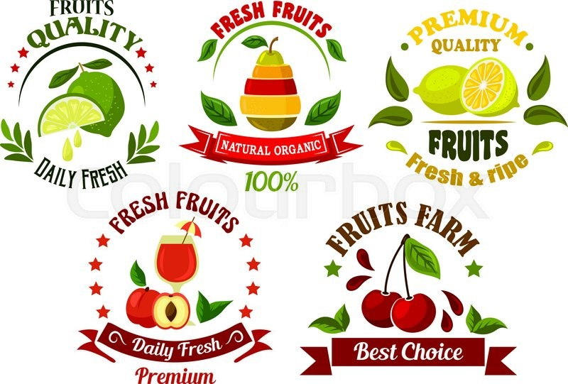 Organic Food Graphic Design
