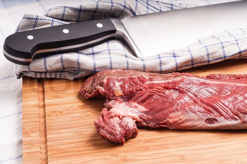Hanging tender, Hanger steak, onglet -     | Stock image