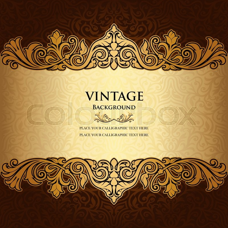 Creative Backgrounds Book Cover Pictures : Vintage ornamental background floral beautiful ornament