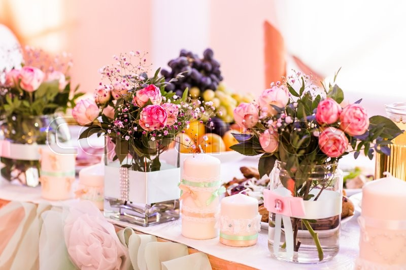 Table Setting Flowers & Enchanting Table Setting Flowers Ideas - Best Image Engine ...