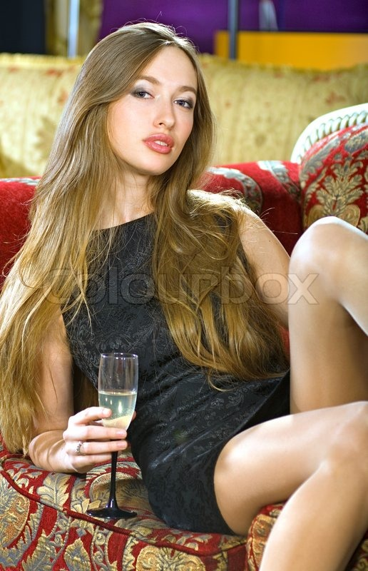 Rich beautiful woman