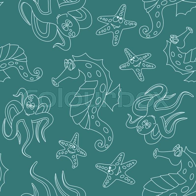 Papier unterwasser f r vektorgrafik colourbox - Aquarium hintergrund ausdrucken ...