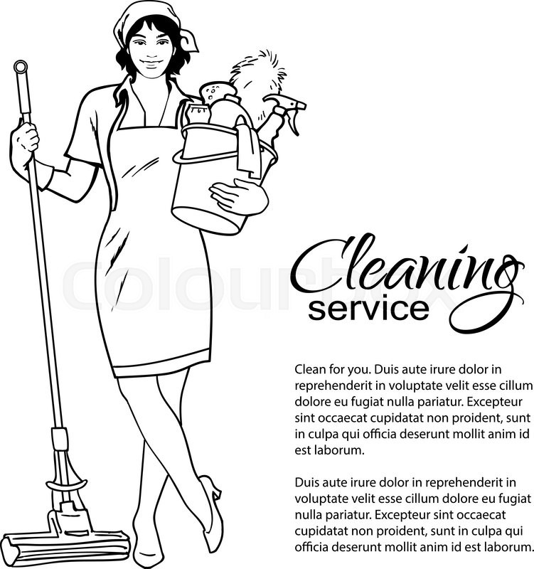 cleaning services the cleaner with a mop cleaning homes cleaning lady clip art images cleaning lady clipart with red hair