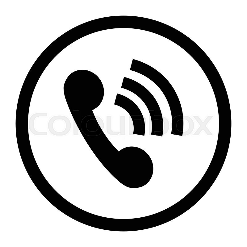 phone icon connection black contact icon and telephone icon web rh colourbox com telephone icon vector svg telephone icon vector illustration