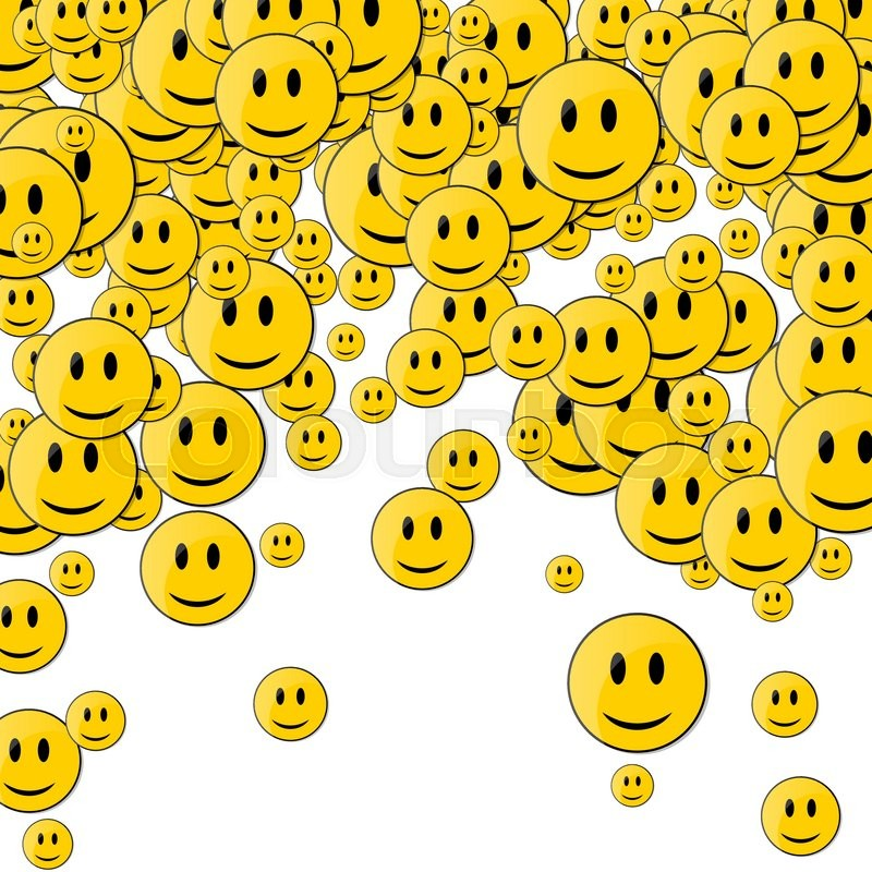 Faces with smile happy face background smileys in motion faces with smile happy face background smileys in motion vector voltagebd Gallery