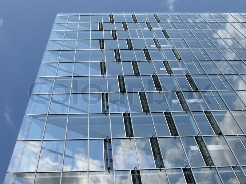 Modern Architecture Glass modern architecture with glass windows | stock photo | colourbox