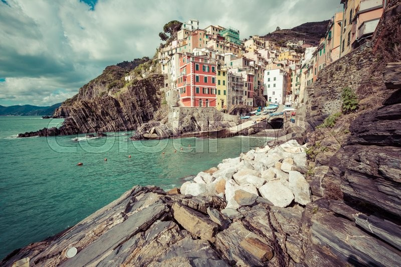 Stock foto af 'riomaggiore, feriested, opholdssted'