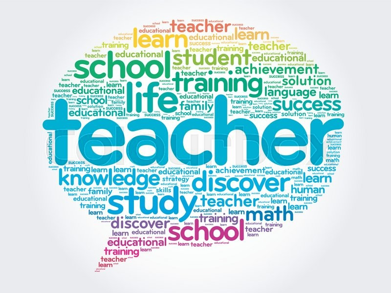 Image result for the word teacher