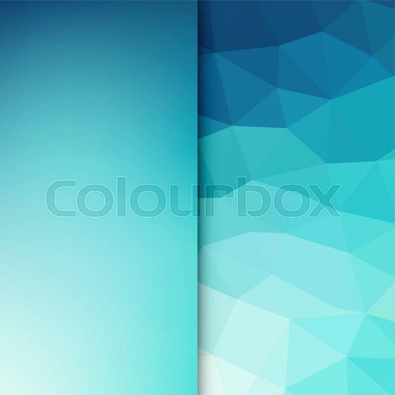 Abstract Light Background Blue Stock Vector Colourbox