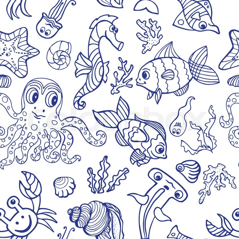 Sea life fish,animals ...