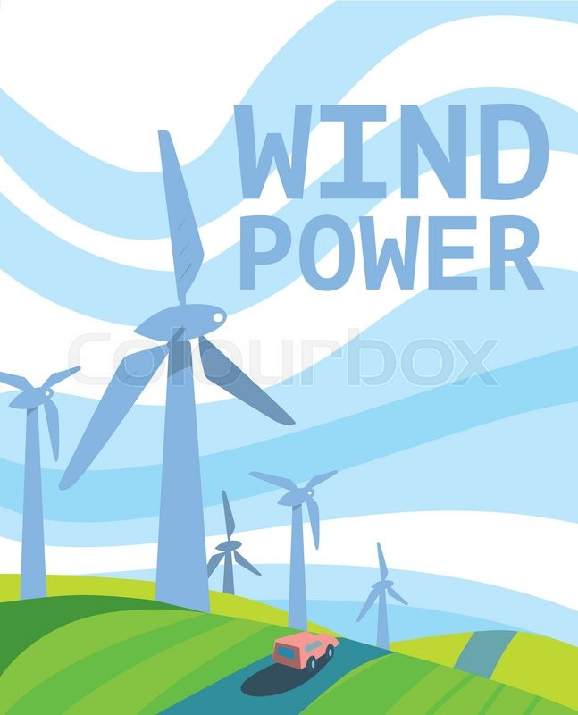 Clean Energy, Ecological Types Of     | Stock vector | Colourbox