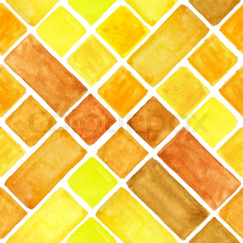 Watercolor geometric abstract seamless pattern background ...