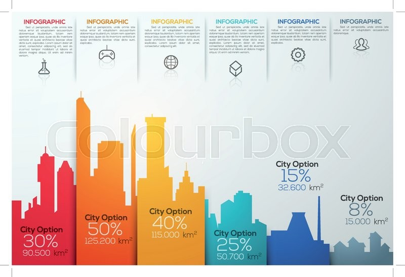 800px_COLOURBOX18219013 modern infographic option banner with stock vector colourbox