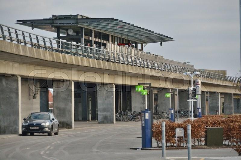 Metroen i København på Amager | stock foto | Colourbox