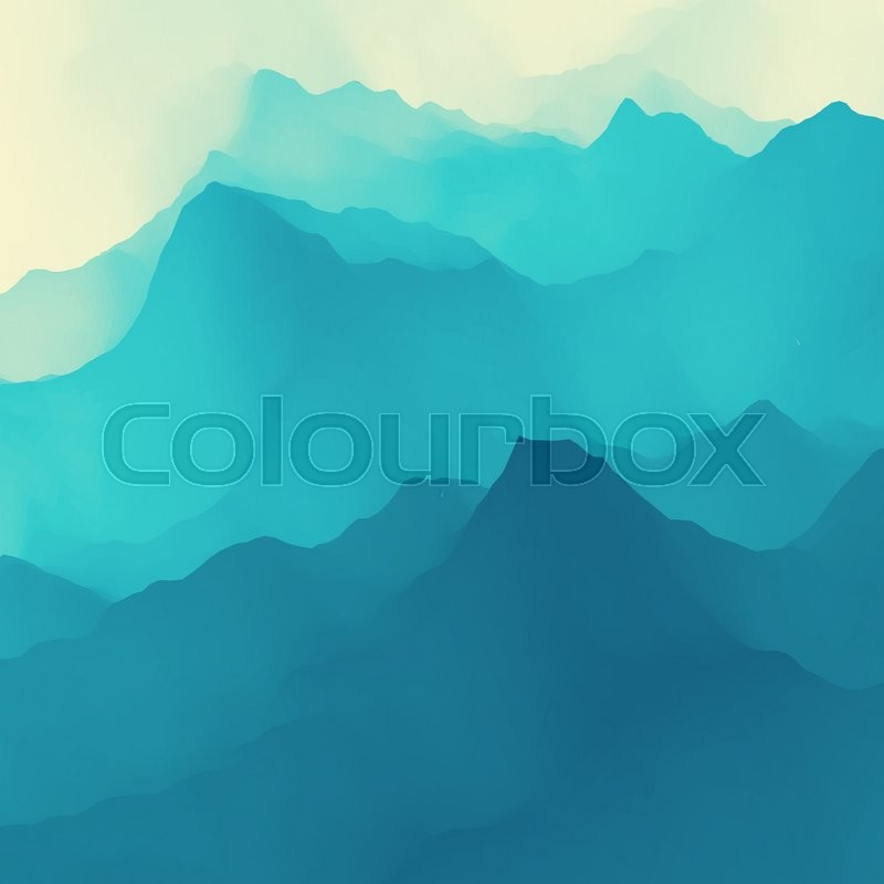 Water Wave. Water Surface. Nature background. Modern pattern. Vector Illustration For Your Design. Flowing Background With Halftone, vector