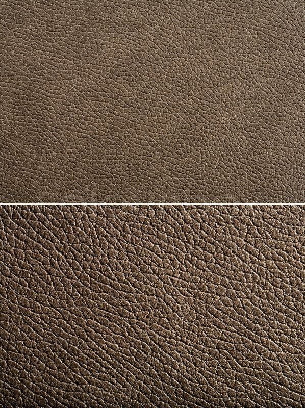 Brown Leather Texture High Resolution Stock Photo
